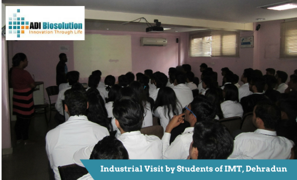 INDUSTRIAL VISIT BY STUDENTS OF IMT DEHRADUN